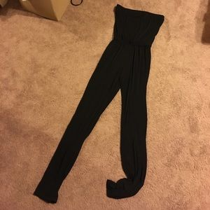 Necessary Objects Pants - NWOT black strapless jumpsuit