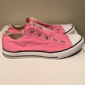 41d42cbb759b Converse Shoes - CONVERSE Chuck Taylor No Lace Slip On Pink
