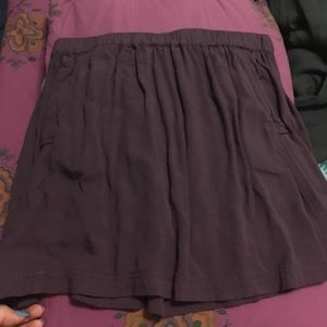 Cooperative Dresses & Skirts - Purple soft cotton skirt