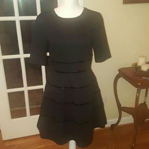 Just Taylor Dresses & Skirts - Just Taylor black detailed dress size 6