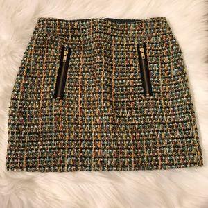 J. Crew Tweed Skirt 00
