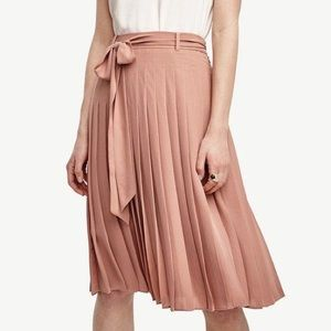 Ann Taylor Dresses & Skirts - Ann Taylor Side Tie Pleated Skirt