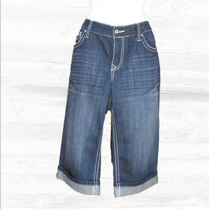 INC International Concepts Denim - INC International Concepts Curvy Crop  Jeans