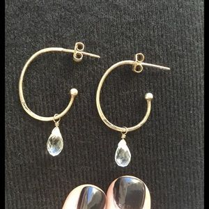 Satya Jewelry Jewelry - Satya Sterling Silver Earrings with Crystal Accent