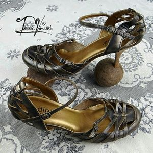 DIBA - BOHO High Heel Bronze Sandals! <3