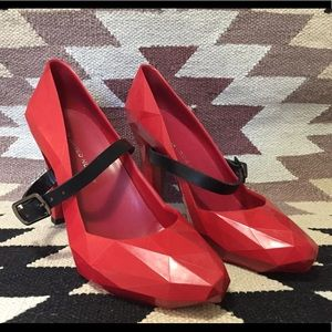 United Nude Lipstick Red Heels