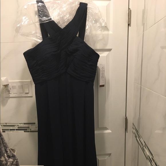 b395c75f102 Bill Levkoff style 1218 Navy dress size 22