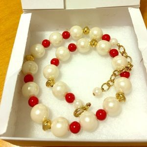 other Jewelry - ❤️SALE❤️Vintage Pearl Ball Beads Necklace