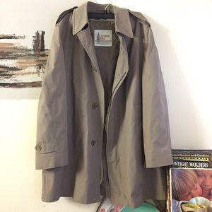 London Fog Jackets & Blazers - London Fog all weather trench coat neutral color