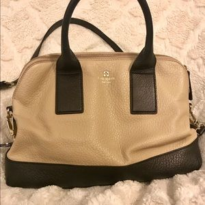 ♠️ Kate Spade ♠️ two toned satchel