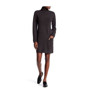 Max Studio Turtleneck Pocket Dress
