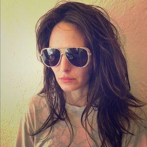 Ksubi Accessories - Ksubi Gold Sunglasses