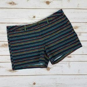 Merona Pants - {Merona} Navy Dot Print Cotton Shorts Size 16