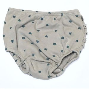 Oeuf Other - Oeuf Gray Ruffle Cat Bloomers