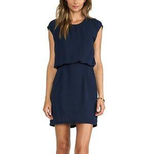 Blaque Label Dresses & Skirts - Blaque Label Navy Sleeveless Mini Dress