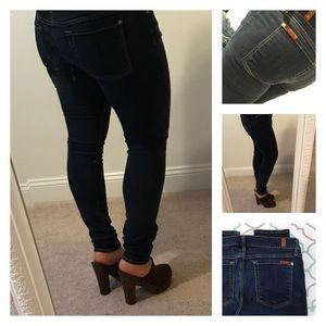 """7 For All Mankind Denim - 💙👖Gorgeous 7FAM Skinny Jeans👖💙31 11/12 30"""""""