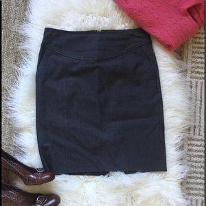 Banana Republic Dresses & Skirts - Banana Republic gray stretch pencil skirt