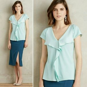 Anthropologie Tops - Anthropologie Cascade Blouse