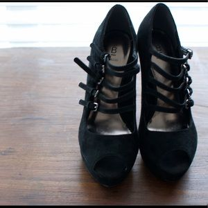 Shoes - Super cute Mary Jane Peep Toe Pumps