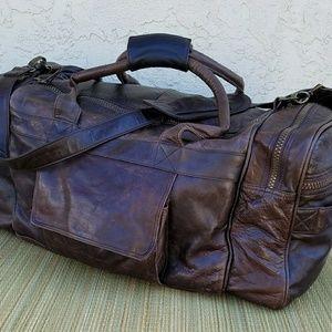 Other - *SALE* Weekender Genuine Leather Duffle Bag