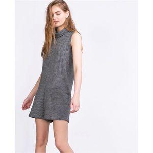 Zara Pants - Zara Tweed Turtleneck Romper