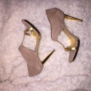 Sergio Rossi Shoes - Sergio Rossi SZ 10.5 Swede Heels
