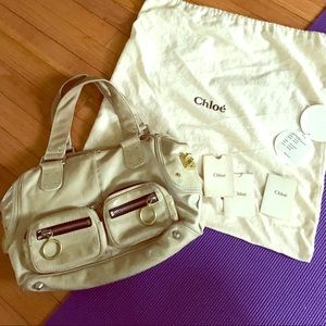 Chloe leather handbag 👜