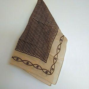 Vintage Etienne Aigner Cotton Scarf / Bandana