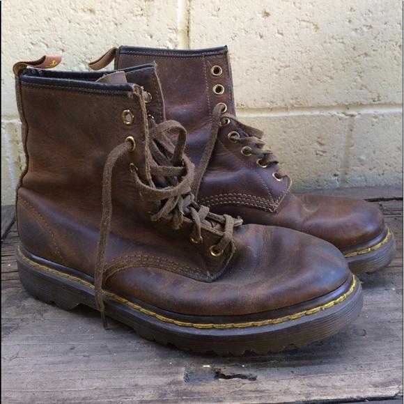 0d6db1be0e5e Dr. Martens Shoes - Dr Martens vintage 8 hole lace-up boots