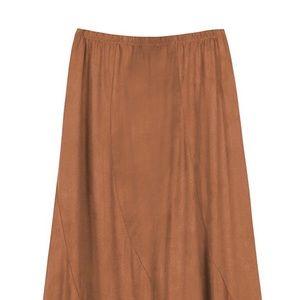 Dresses & Skirts - Women's Vintage Elastic Waist Maxi Skirt