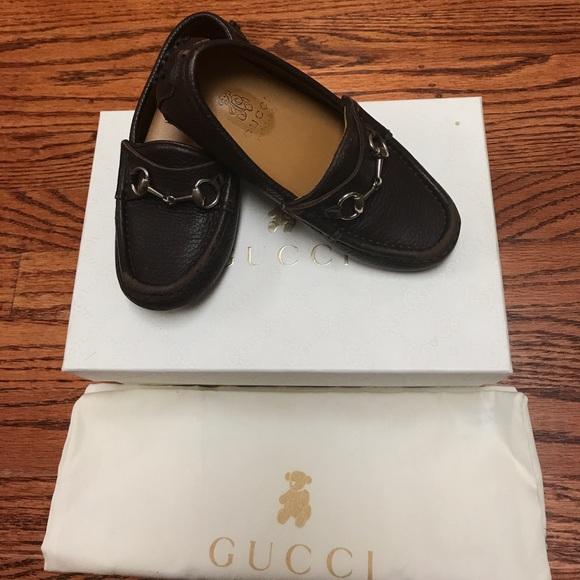 3e2ffccb99f91 Gucci Shoes   Used Mocapelle S Gomma Street Cocoa   Poshmark