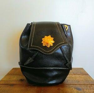 Vintage Handbags - Vintage Christian Lacroix Sm.Drawstring Backpack