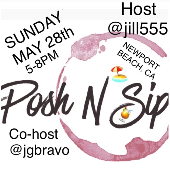 Posh N Sip Other - 🎈SEE YOU LATER THIS AFTERNOON LADIES🎈🇺🇸🍾