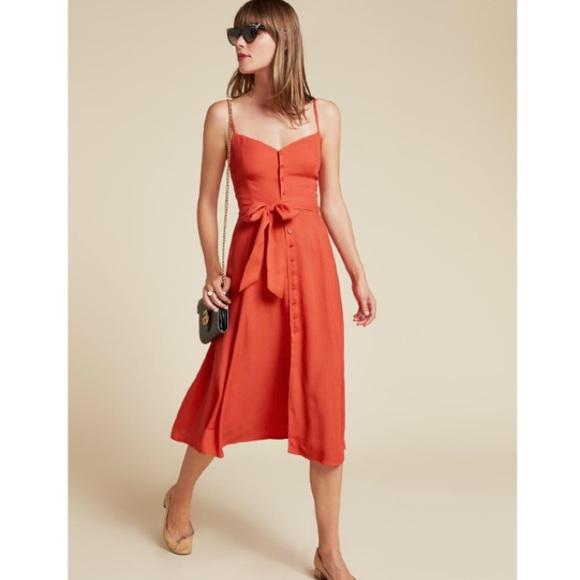 dc5ea62f2a62 Reformation Pacific Dress. M_59097bd15a49d06c75001126
