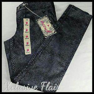 Grane Denim - New Snakeskin Print Jeans PRICE FIRM