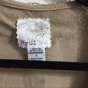 ryu Tops - Unique Ryu short sleeve cardigan
