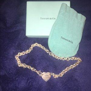 Tiffany & Co. Jewelry - Authentic Tiffany Heart Choker