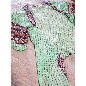 Turqoise Kimono 曆 One size fits all