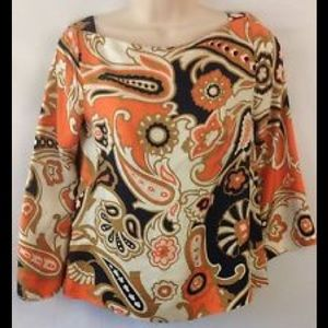J Crew Silk blouse Size 6
