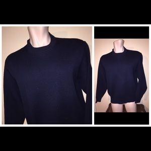 Filson Other - FILSON Wool l/s Heavy Men's Sweater Navy Blue Sz M