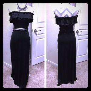 Baby Phat Dresses & Skirts - Cute   Black Maxi Dress   S