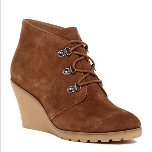 Shoes - NIB SUSINA Rawlin Wedge Bootie!