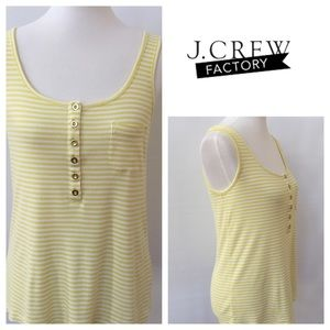 J. Crew Factory Tops - Factory everyday striped henley tank