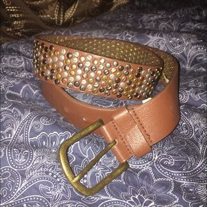 Mossimo Supply Co. Accessories - Studded leather belt