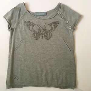 Zadig & Voltaire Other - Zadig & Voltaire Gem Butterfly Sweater Size 6