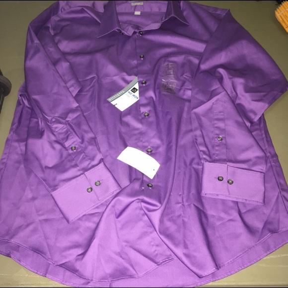 56 off van heusen other van heusen fitted dress shirt for 17 33 shirt size