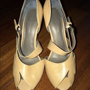 Studio Paolo Shoes - Paolo Size 7 nude heels