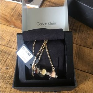 Calvin Klein Collection Jewelry - CK collection gold, silver, rose gold necklace