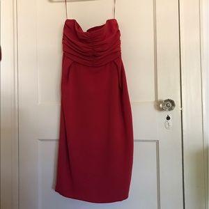 Dresses & Skirts - Gorgeous max Mara red strapless dress size 4