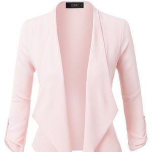 Blush Cardigan style Blazer